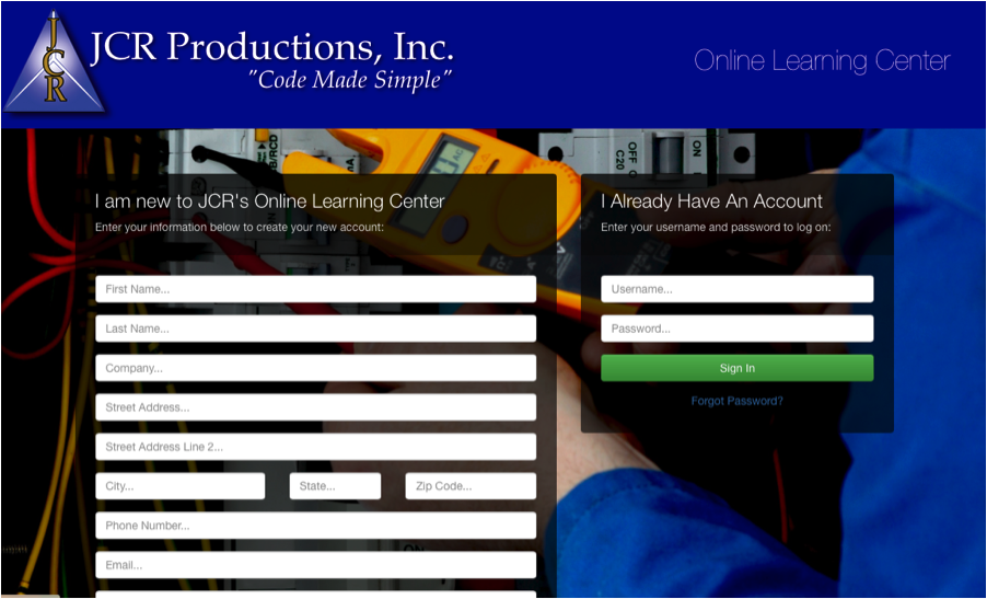 FAQ's about JCR's Online Training Center